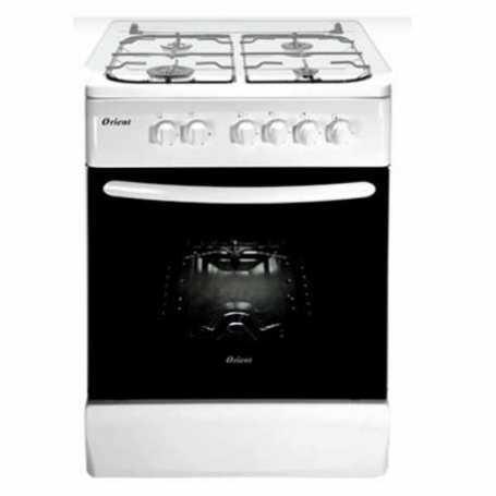 Cuisinière à gaz ORIENT OC-60-60 EBP Blanc