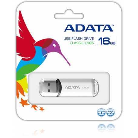 FLASH DISK ADATA CLASSIC C906 16 GO BLANC