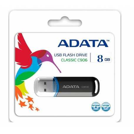 FLASH DISK ADATA CLASSIC C906 8 GO NOIR