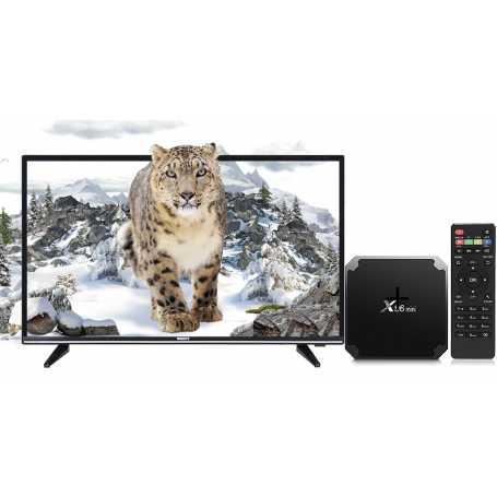 """TV ORIENT 32"""" & Box Android X96 mini avec abonnement"""