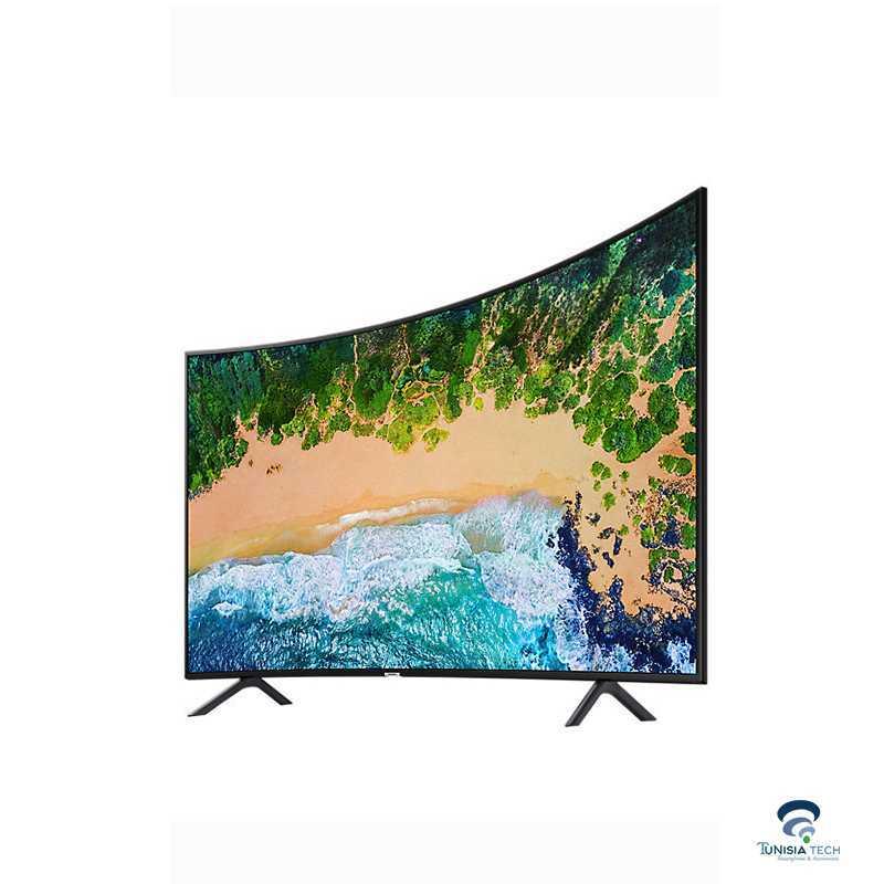 "TV Smart Samsung 49"" UHD 4K Curved  NU7300  Série 7 tunisie"