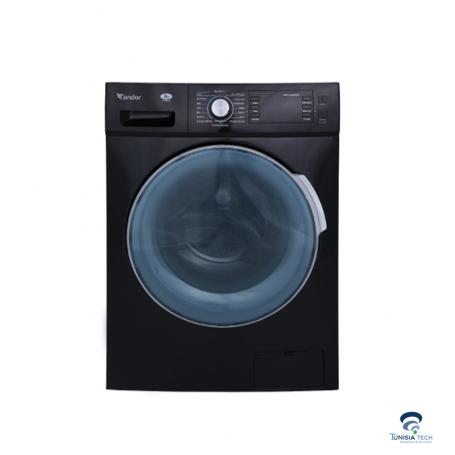 Machine à laver Frontale Condor NEO Inverter 10.5 Kg Noir