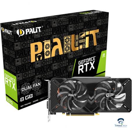 Carte Graphique Palit RTX 2070 DUAL 8G GDDR6