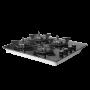Plaque ENCASTRABLE Orient OP-4F-VN- Noir