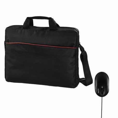 Hama Tortuga Set 2 en 1 sac pc portable et souris de 39,6 cm-Noir