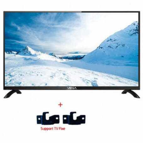 "TÉLÉVISEUR VEGA 40"" HD LED TV - NOIR"