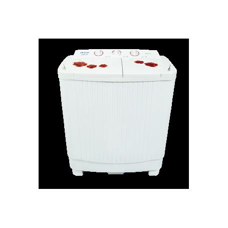 Machine à laver ORIENT XPB 1-8*7 semi-automatique 7.5kg-Blanc