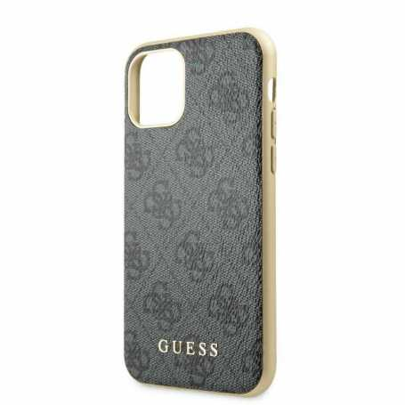 Coque Guess Charms 4G Rigide IP19- Gris