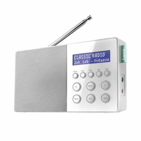 Radio numérique Hama alimentation par piles DR10