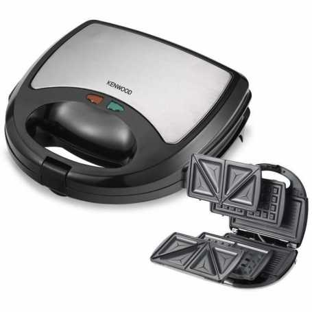 Sandwich Maker 3 en 1 Kenwood (Pannini, Croque Monsier & Gaufrier)