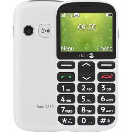 Téléphone Doro 1360 -Blanc