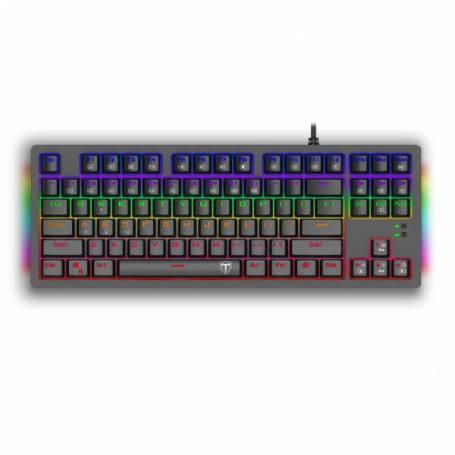 Clavier Mécanique T-Dagger Bali T-TGK311 Rainbow Brown Switch