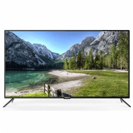 """TV VEGA 32"""" HD Smart Android + Récepteur intégré - Noir"""