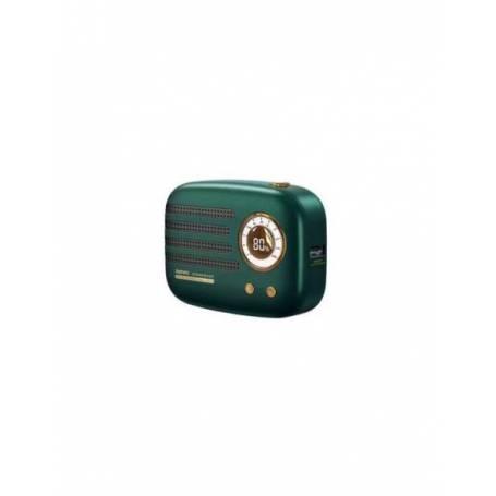Power bank 10000mah Mini radio Remax RPP-28 Green