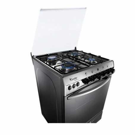 Cuisiniére CONDOR QUARTZ Q4510G 4F 55CM GRIS