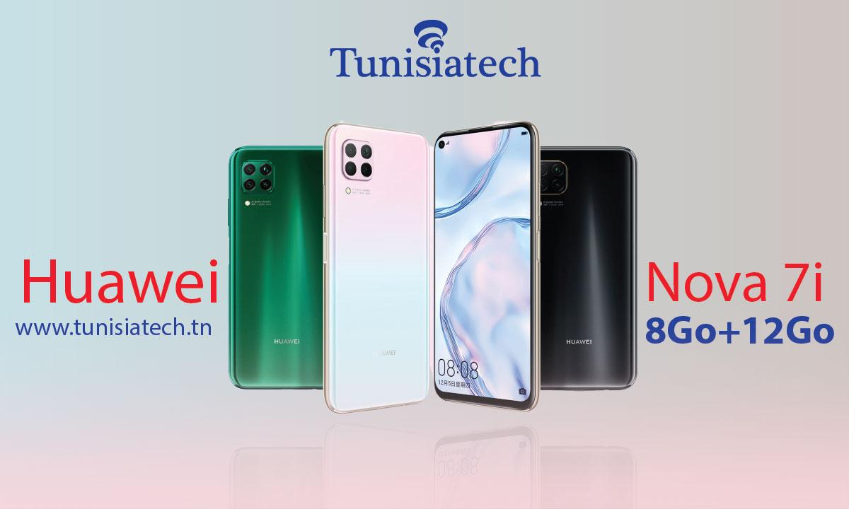 Huawei Nova 7i prix Tunisie