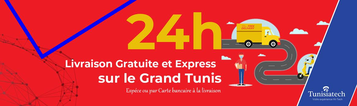 livraison gratuite et express en tunisie