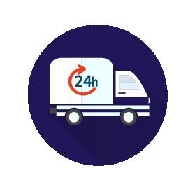 livraison express 24 h en tunisie chez Tunisiatech