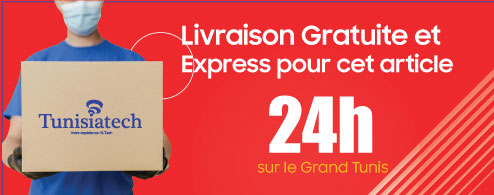 Livraison Gratuite chez Tunisiatech